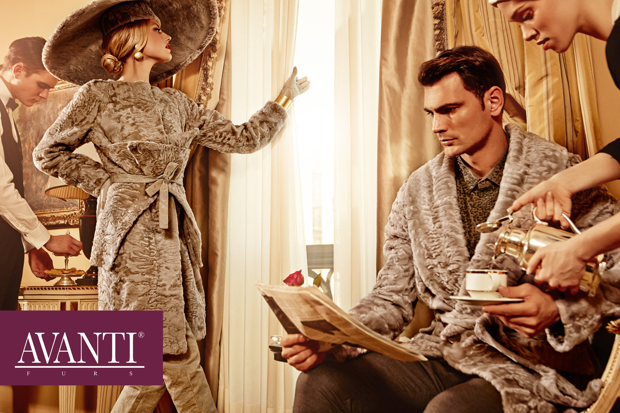 AVANTI FURS COLLECTION SPOT 2013